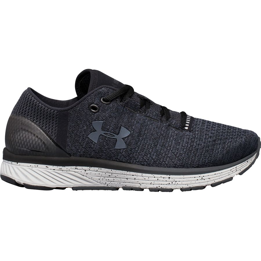 Under Armour - Charged Bandit 3 Running Shoe - Women's - Black/Glacier Gray/
