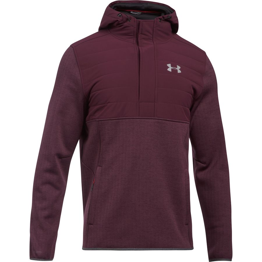 under armour swacket henley pullover hoodie mens