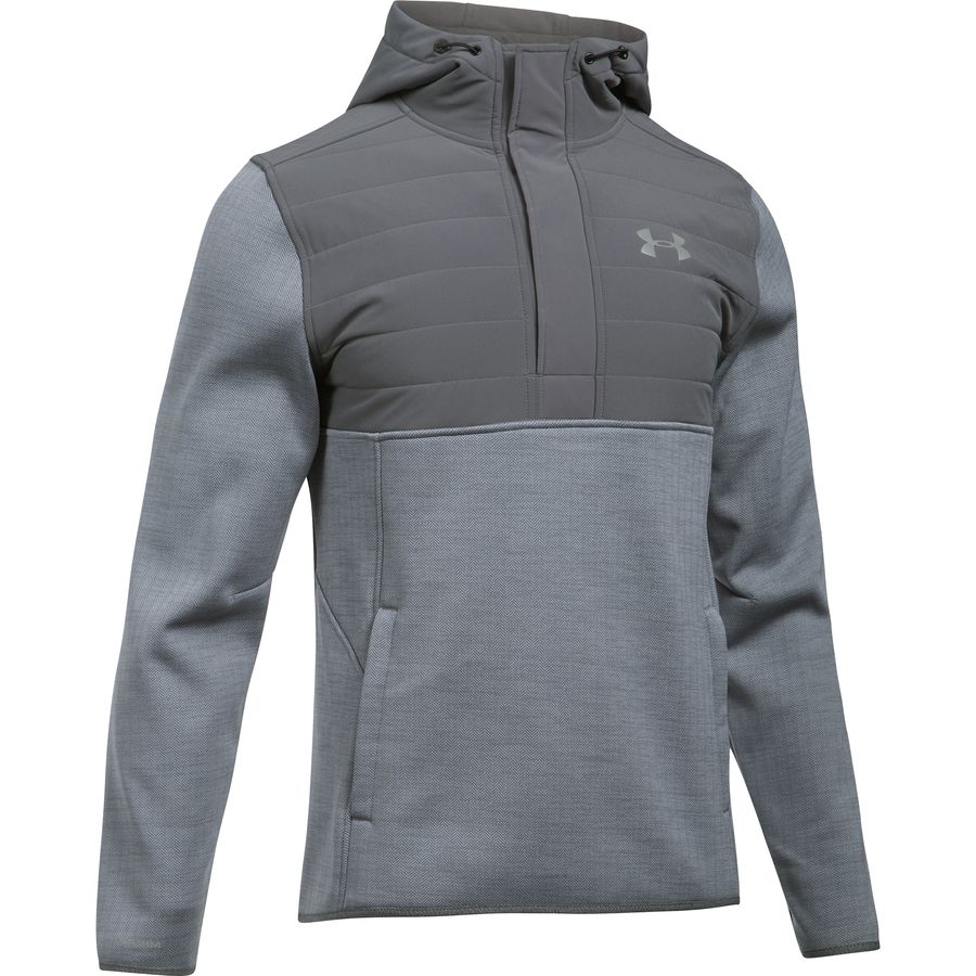 Under Armour Swacket Henley Pullover Hoodie - Mens