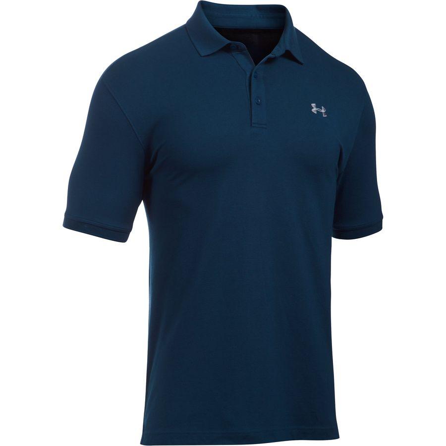 Under Armour Performance Cotton Polo Shirt - Mens