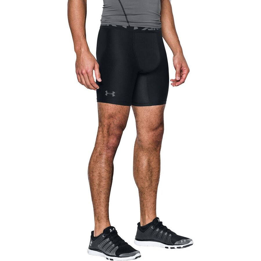dea1827a26 Under Armour - HG Armour 2.0 Comp Short Brief - Men's - Black/Graphite