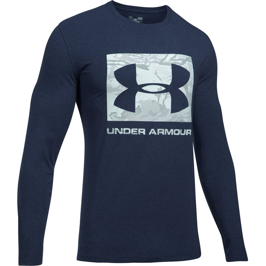 Under Armour Camo Knockout Long-Sleeve T-Shirt - Mens