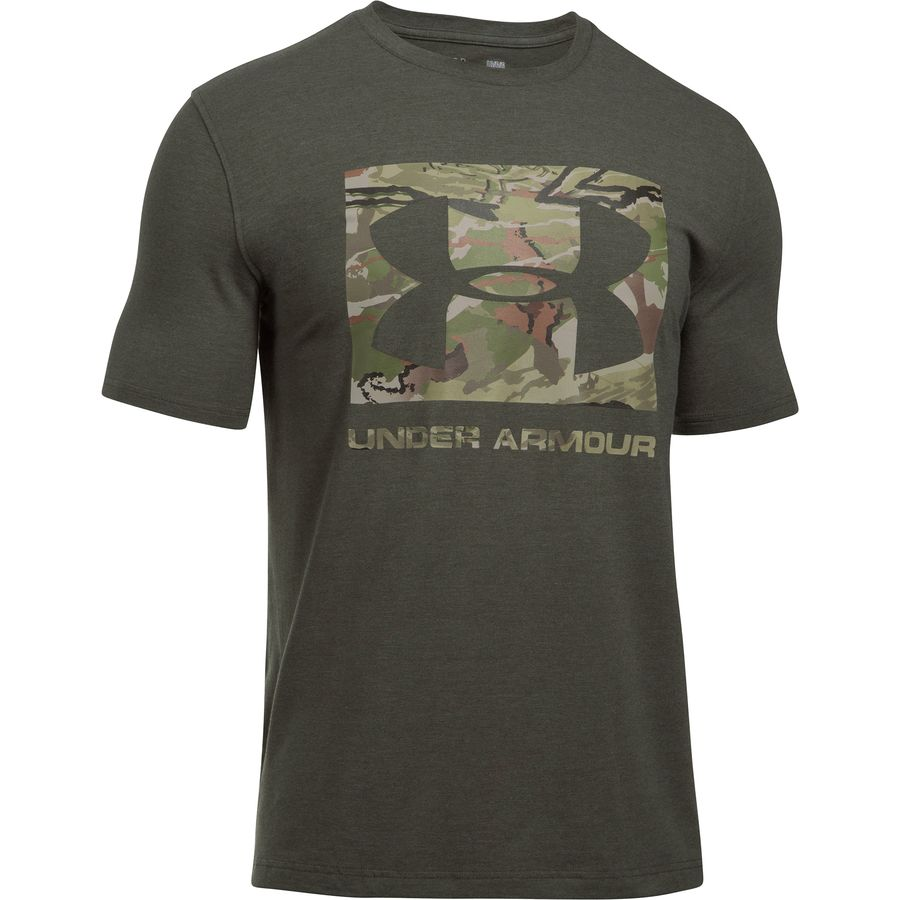 Under Armour Camo Knockout Short-Sleeve Logo T-Shirt - Mens