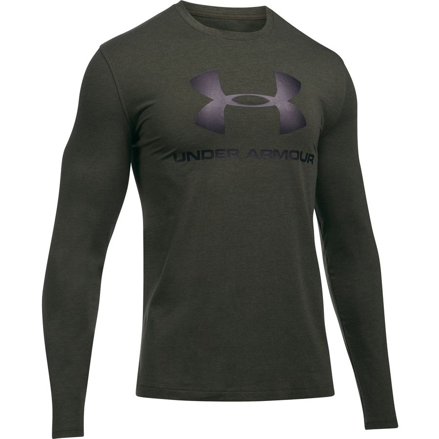 Under Armour Sportstyle Long-Sleeve Logo T-Shirt - Mens