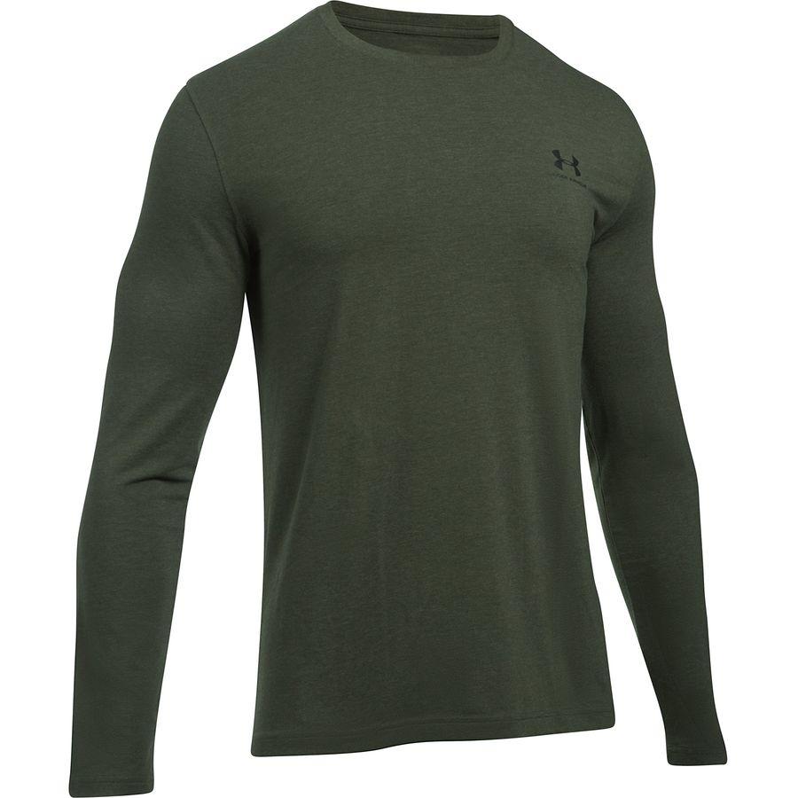 Under Armour Left Chest Long-Sleeve T-Shirt - Mens