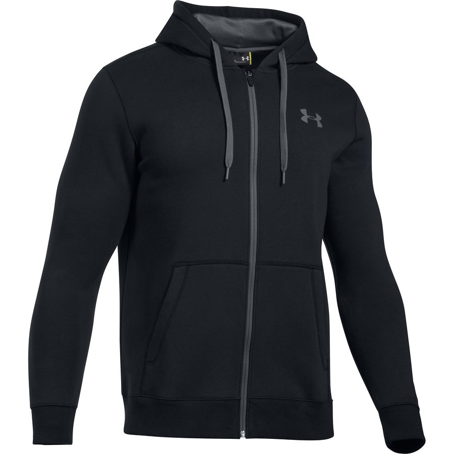 Under Armour Rival Cotton Full-Zip Hoodie - Mens