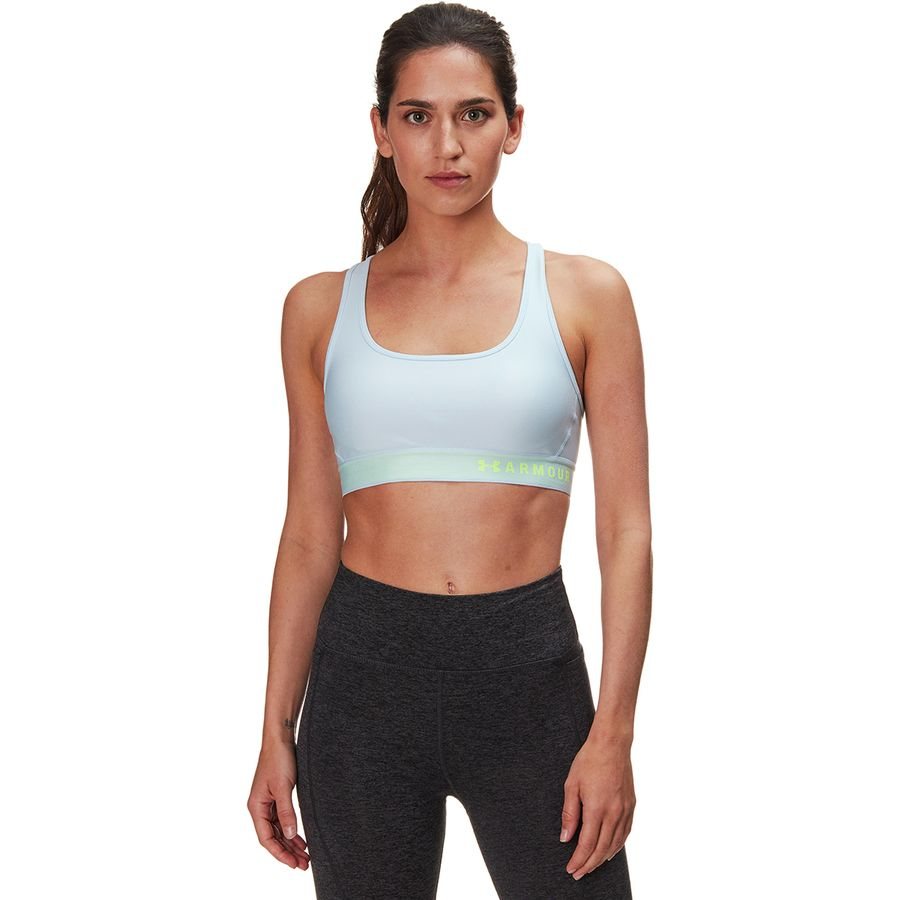6301c17a0c8 Under Armour - Armour Mid Crossback Sports Bra - Women s - Coded Blue Coded  Blue