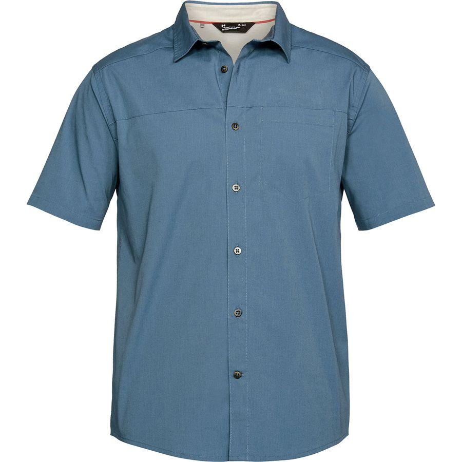Under Armour Pierpoint Short-Sleeve Shirt - Mens
