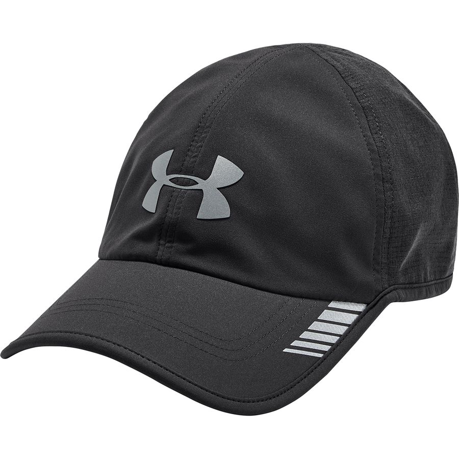 Under Armour - Launch Armourvent Cap - Men s - Charcoal Stealth Gray Fade  Heather 3e87971f3103
