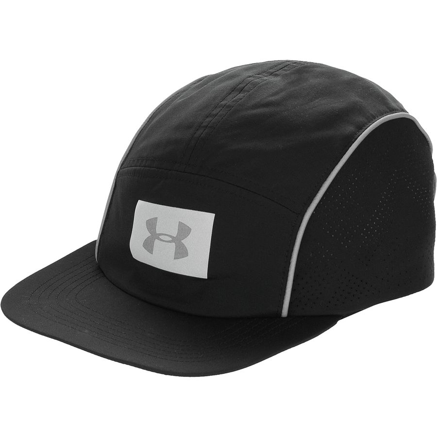 Under Armour - Packable Run Reflective Cap - Black Black Black 9a3fe89a713