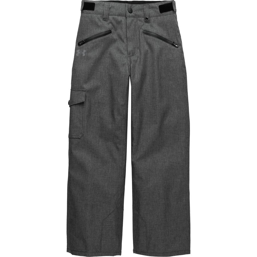 4932927ea964 Under Armour - Heather Swiftbrook Insulated Pant - Girls  - Charcoal Grey  Heather Black Reflective