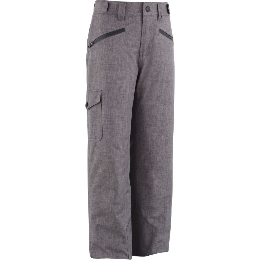Under Armour - Heather Rooter Pant - Boys  - Charcoal Heather Grey 4b14cb3688c1