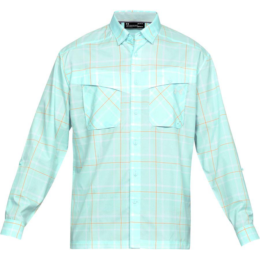 c89142c673 Under Armour Tide Chaser Plaid Long-Sleeve Shirt - Men's