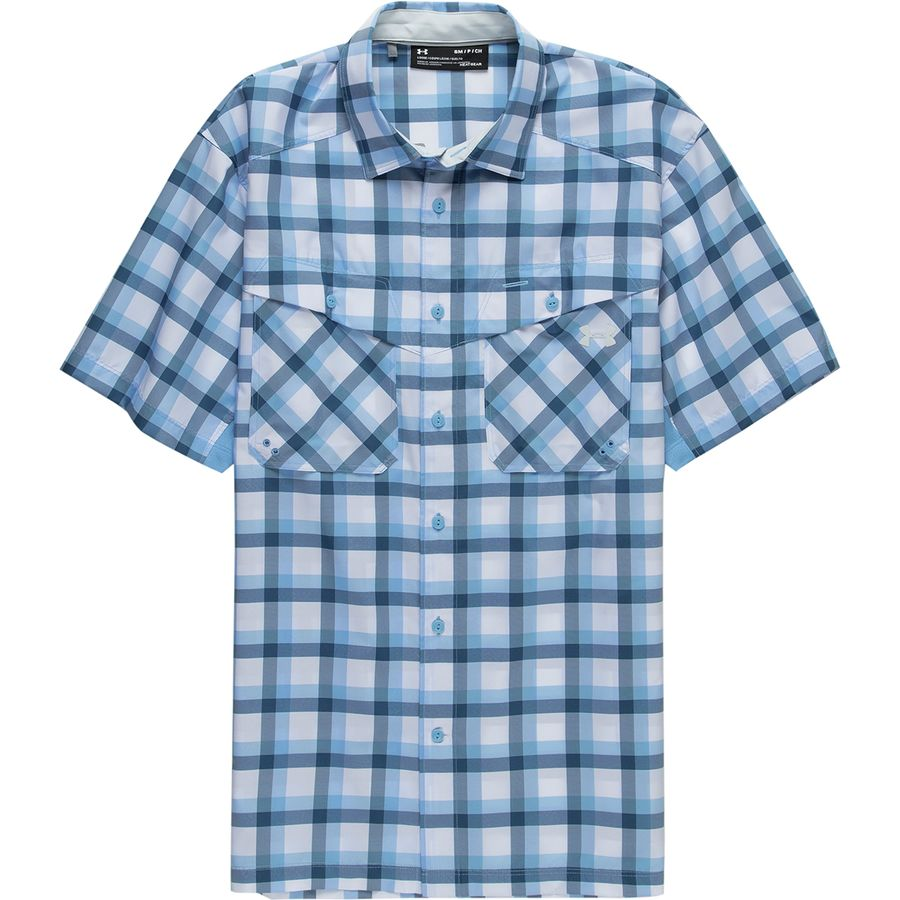 20232ac8 Under Armour Tide Chaser Plaid Short-Sleeve Shirt - Men's