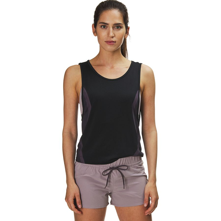 5dd0087a Under Armour - Vanish Seamless Muscle Tank Top - Women's - Black/Purple  Prime/