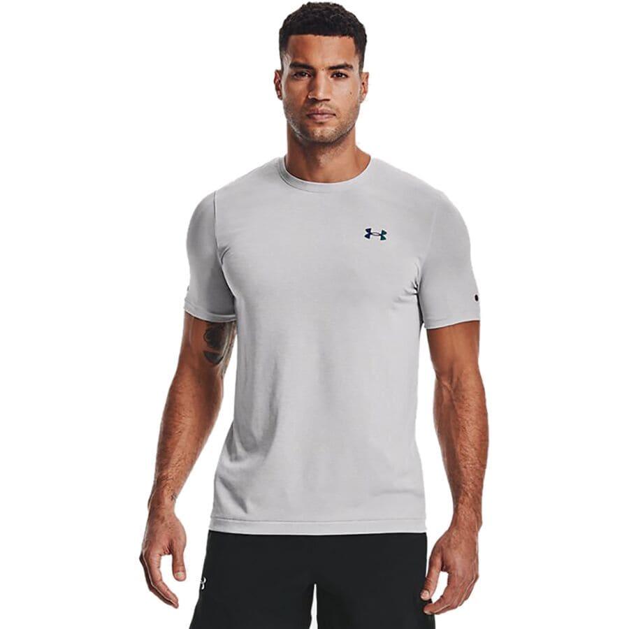Under Armour Rush Seamless Short-Sleeve Shirt - Mens