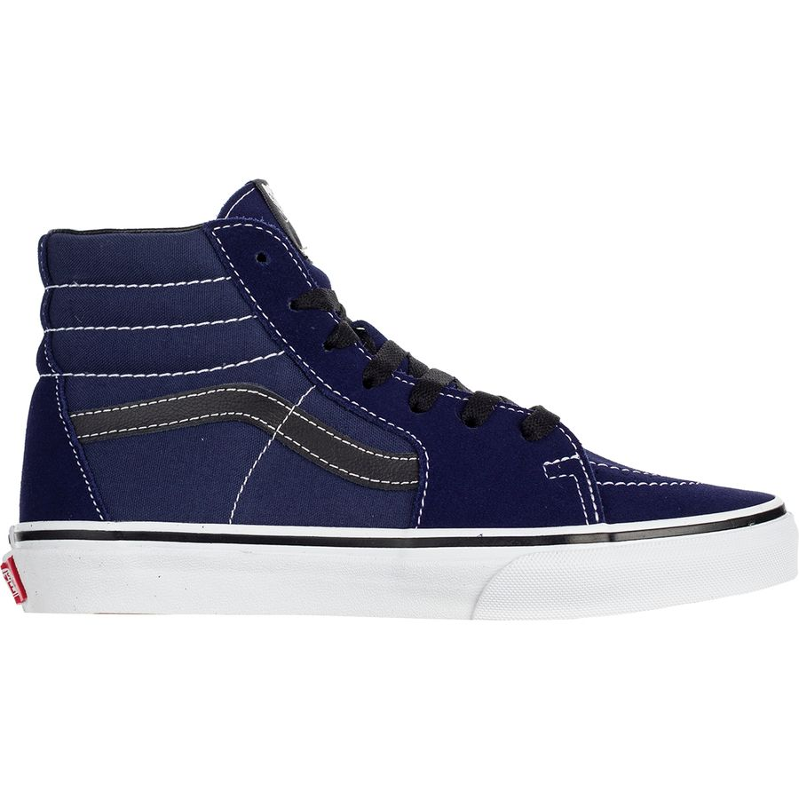 bc2c9acfc54add Vans - SK8-Hi Zip Skate Shoe - Kids  - Medieval Blue Black