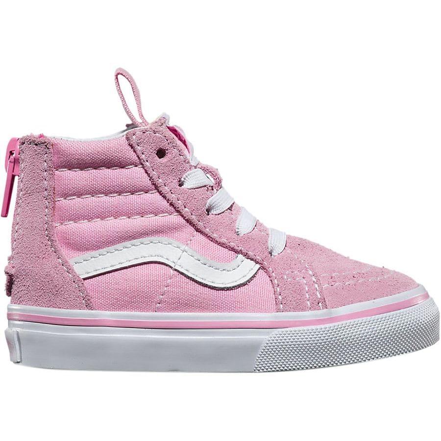 Vans SK8-Hi Zip Skate Shoe - Toddler Girls'   Backcountry.com