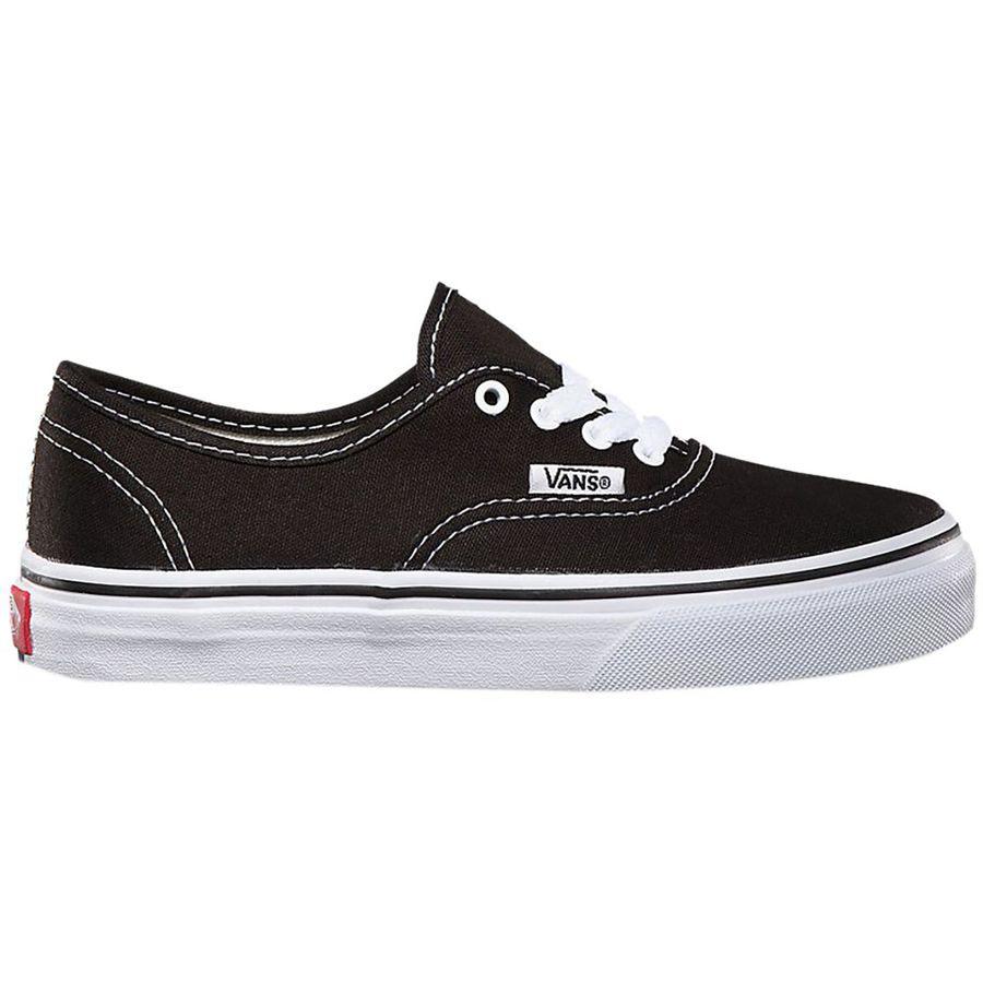 d23dca5d435e31 Vans - Authentic Skate Shoe - Kids  - Black True White