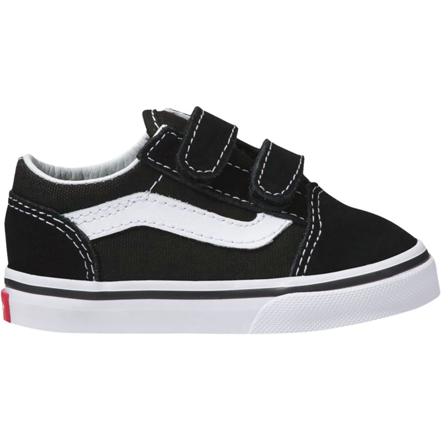 Vans - Old Skool V Skate Shoe - Toddler Boys  - Black 530537ed3
