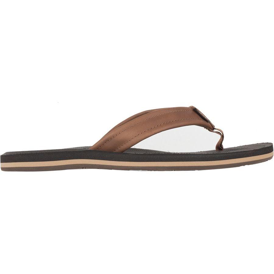 14534795589 Vans - Nexpa Leather Flip Flop - Men s - Brown Espresso