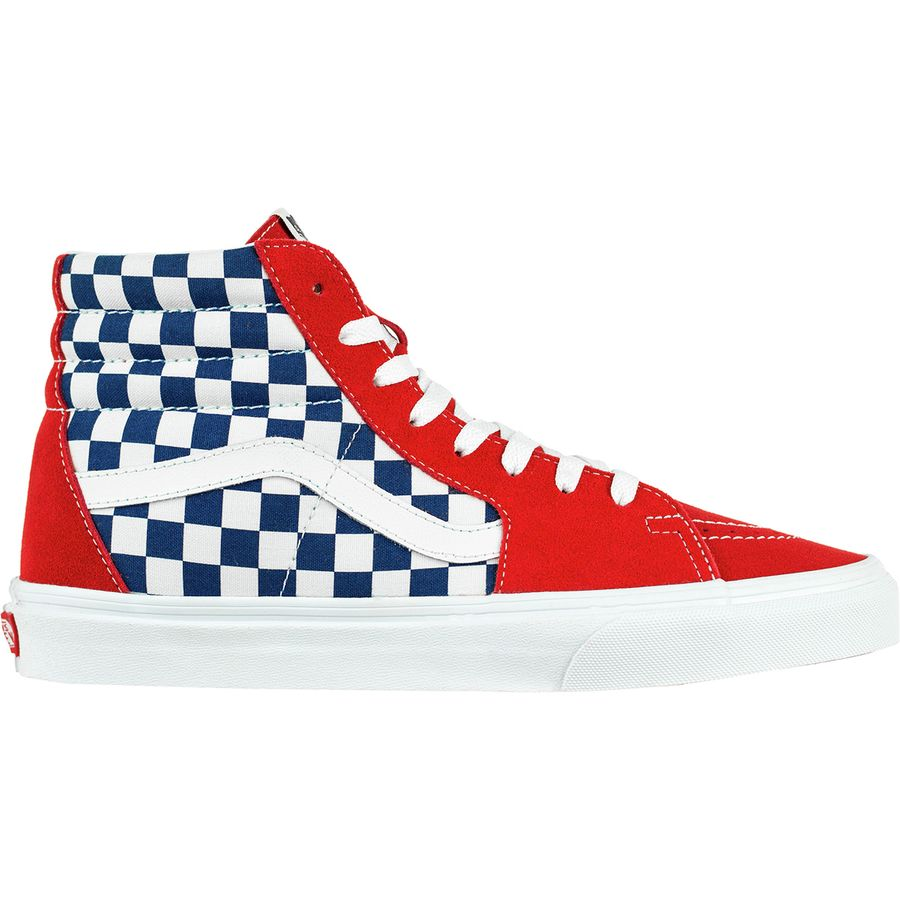 254caae7ced Vans - Sk8-Hi Shoe - Men s - (bmx Checkerboard) True Blue