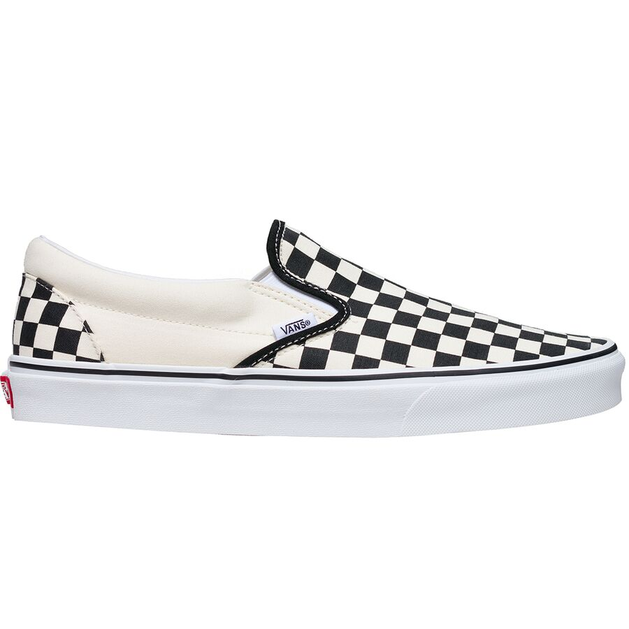 Vans - Classic Slip-On Shoe - Men s - Black And White Checker White 55c4fb43e