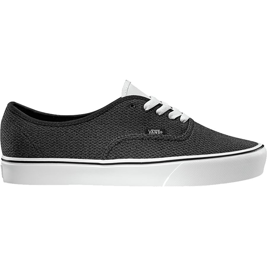 Vans - Authentic Lite Shoe - Men's - (mesh) Black/Asphalt