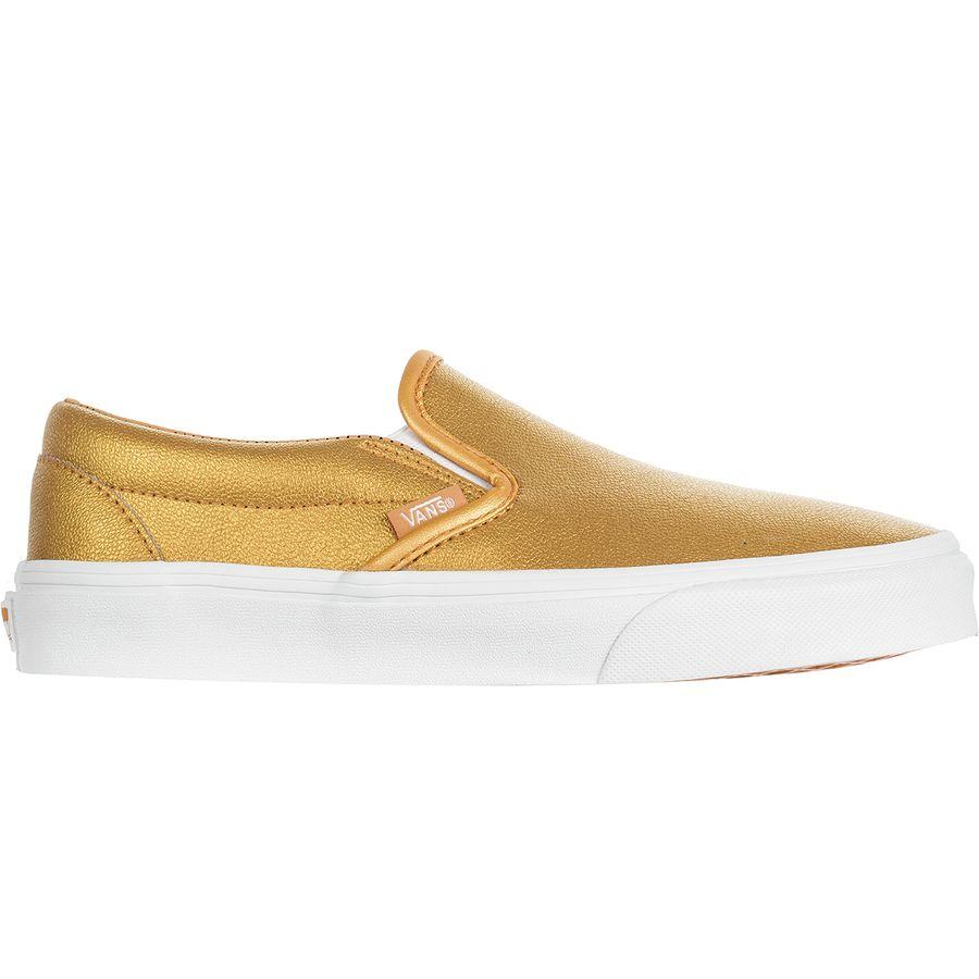 714e5d97a9631f Vans - Classic Slip-On Shoe - Women s - (metallic) Bronze True