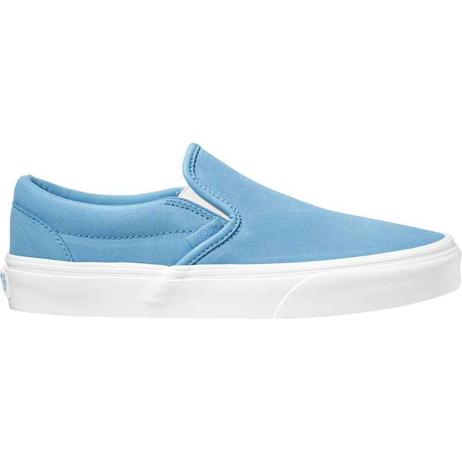 9ede79412c Vans - Classic Slip-On Shoe - Women s - (soft Suede) Alaskan Blue