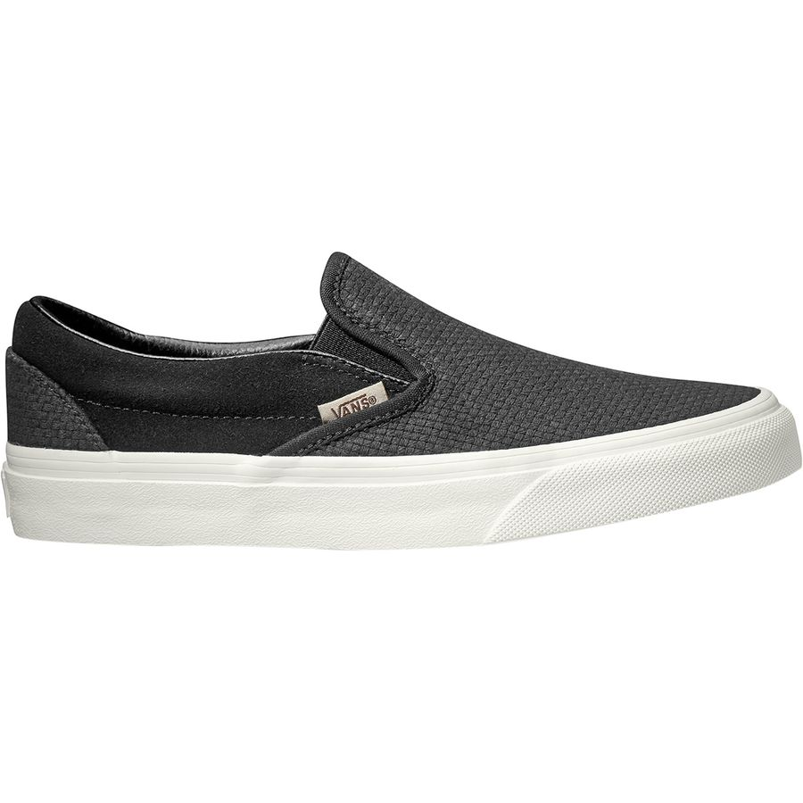 9f2a8046086a Vans - Classic Slip-On Shoe - Women's - (woven Check) Black/
