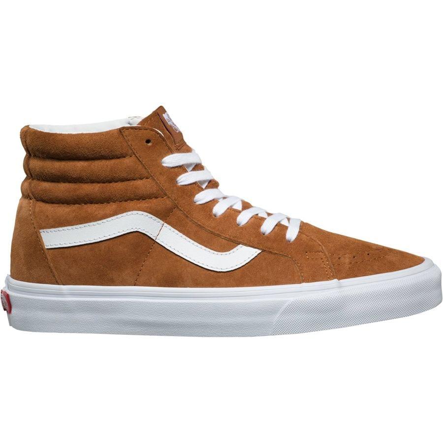 a6c463ebfcd Vans - Sk8-HI Reissue Shoe - Men's - (pig Suede) Leather Brown