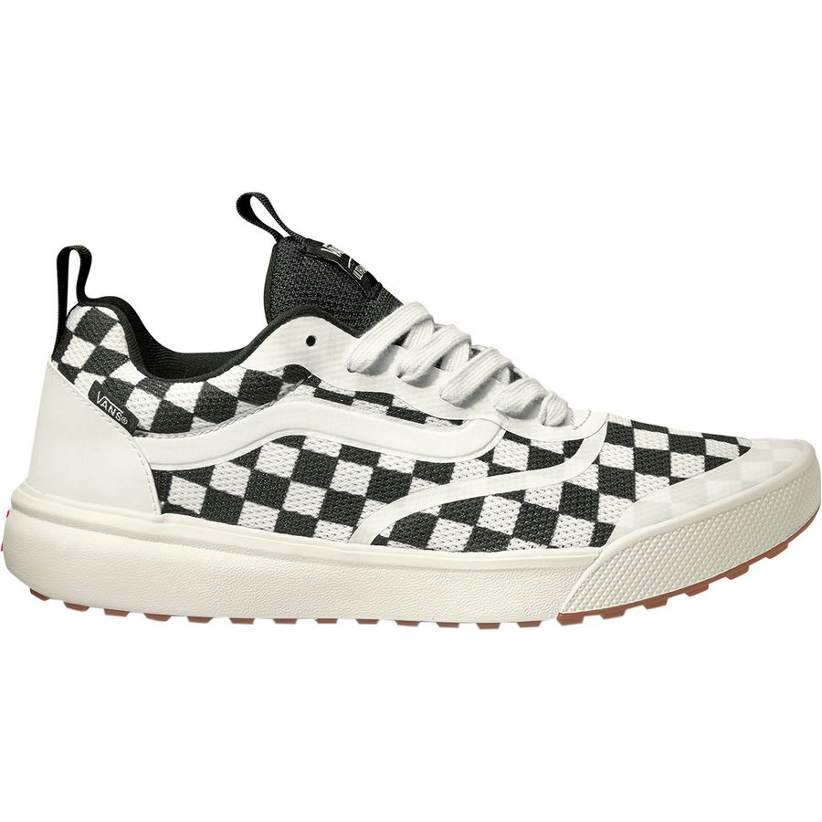 faf909d263c Vans - Ultrarange Rapidweld Shoe - Men s - (checkerboard) Marshmallow Black