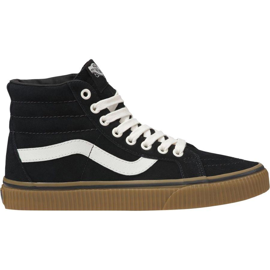 Vans - Sk8-Hi Reissue Shoe - Women s - (suede) Black Embossed 7d1b06aff
