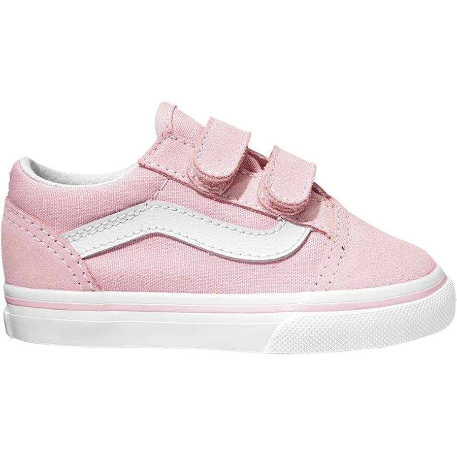 99d6e7f2614853 Vans - Old Skool V Skate Shoe - Toddler Girls  - (suede Canvas