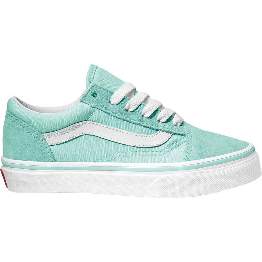 Vans - Old Skool Shoe - Girls  - Blue Tint True White 724cdc770