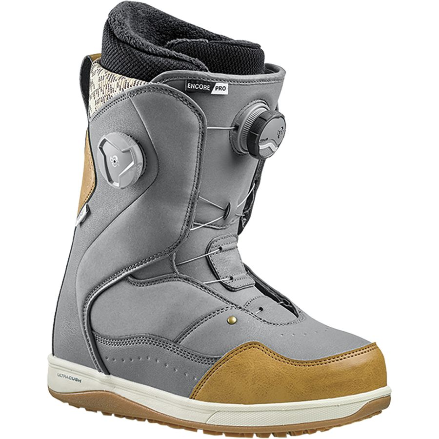 55a8cc54a1 Vans - Encore Pro BOA Snowboard Boot - Women s - Grey Brown