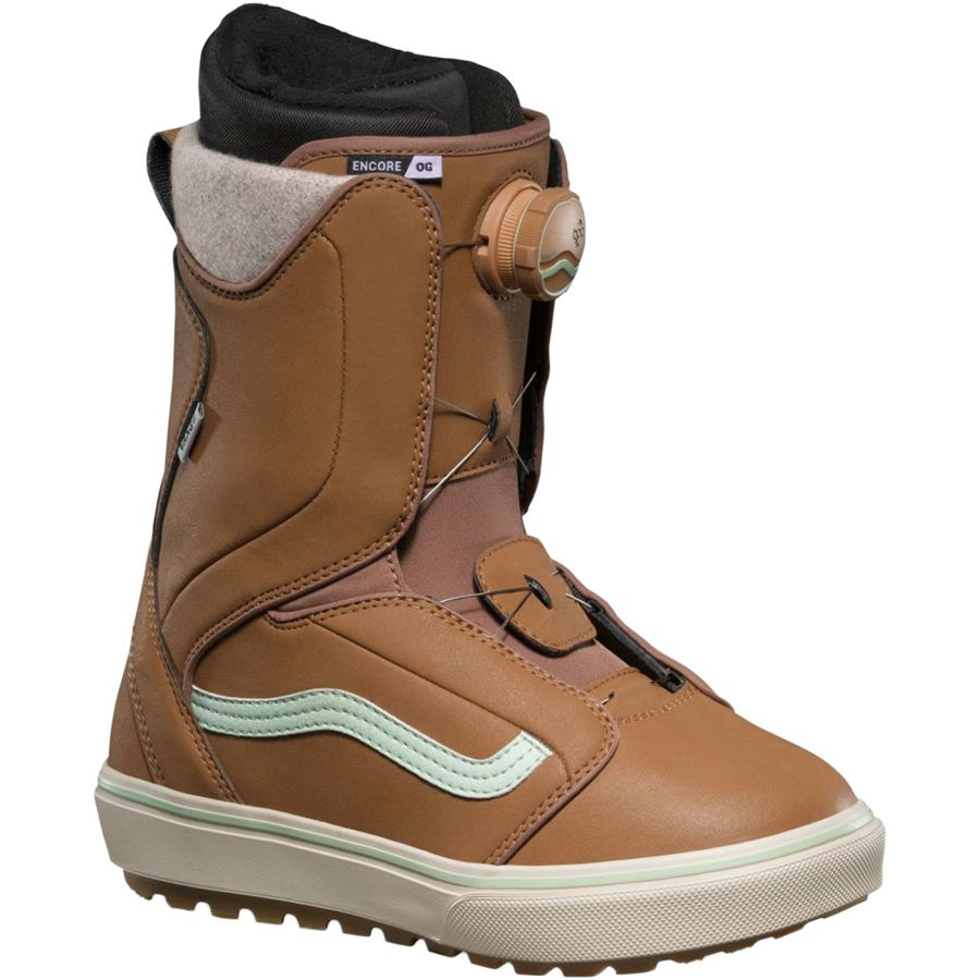 203f60171a Vans - Encore OG BOA Snowboard Boot - Women s - Tan Teal