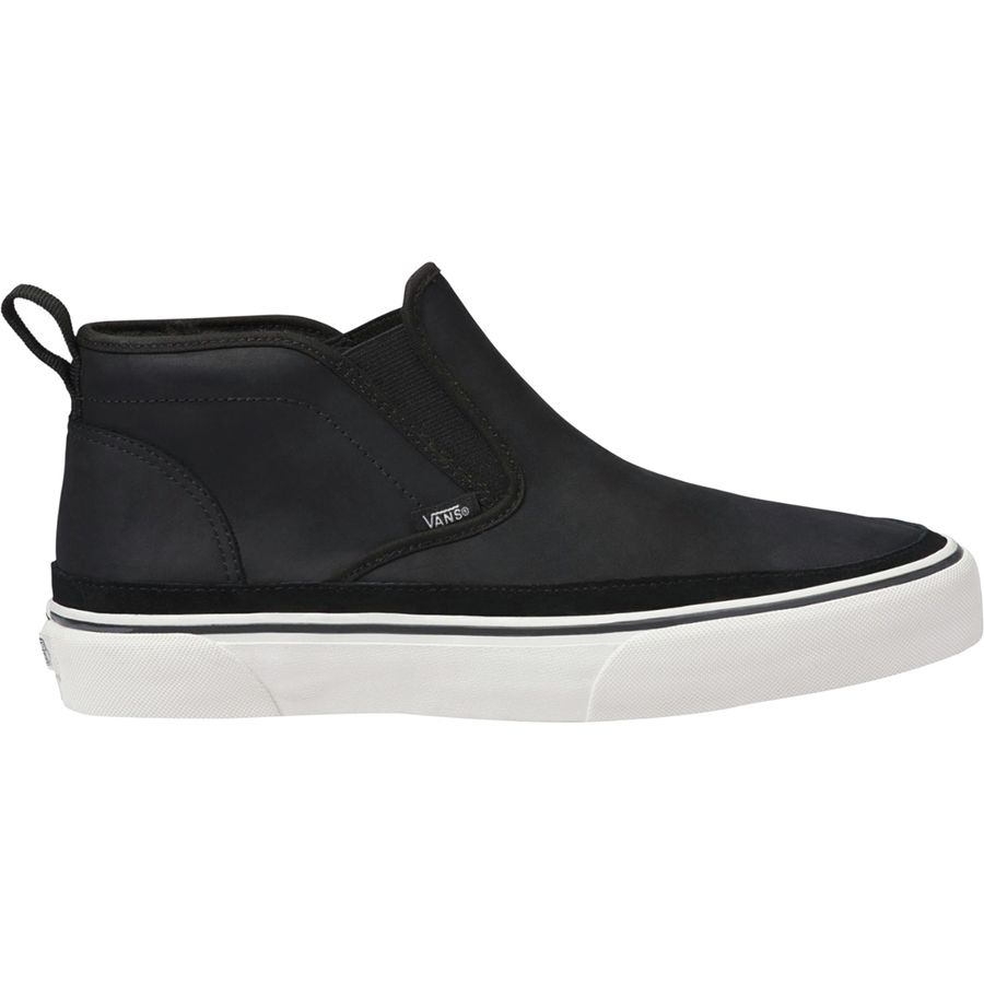 Vans - Mid Slip SF MTE Shoe - Men's - Black/Marshmallow ...