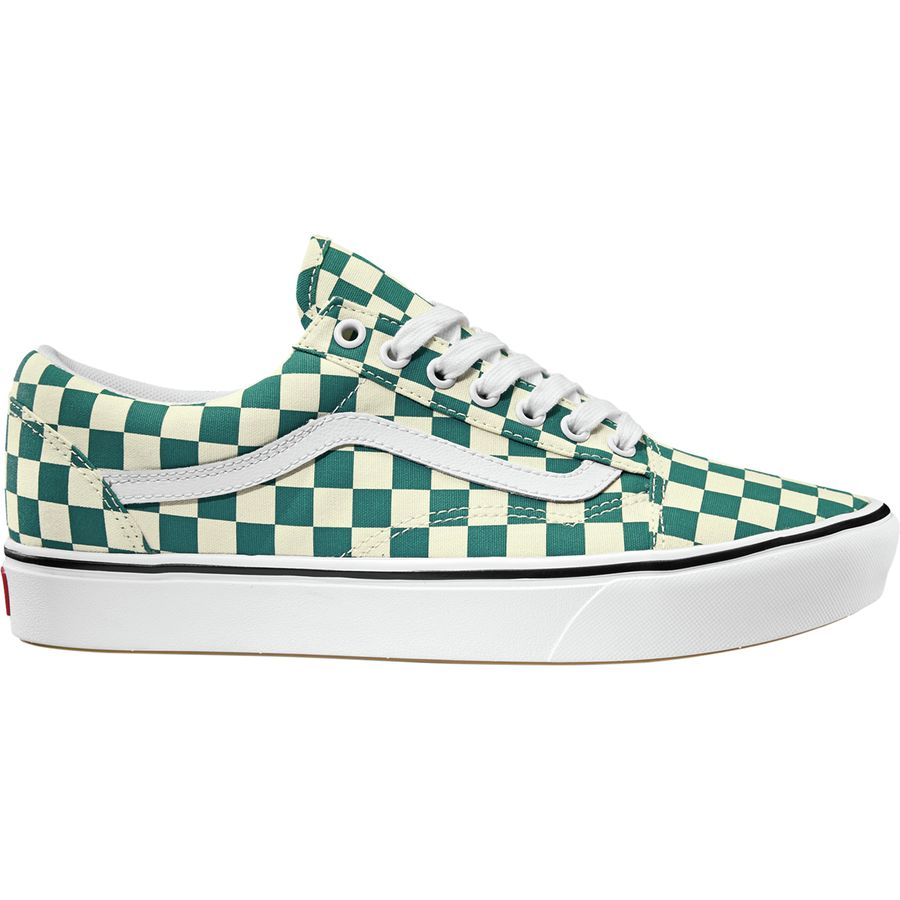 dfd4d7dbc5 Vans - Comfycush Old Skool Shoe - Men s - (checker) Quetzal True White