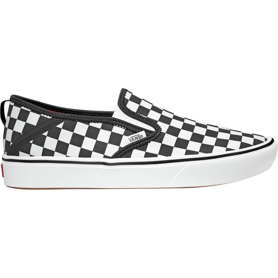 b1bbefd2438cbf Vans - Comfycush Slip-On SF Shoe - Men s - (checkerboard) Black