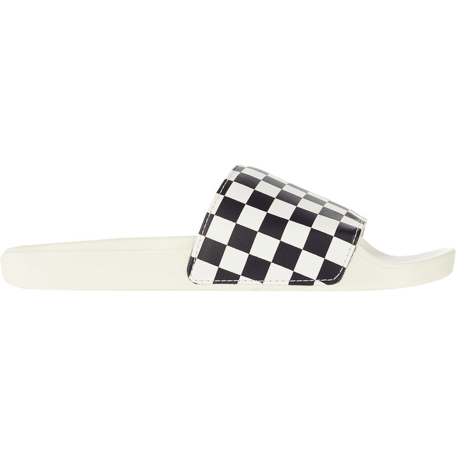 cb14fe3a143 Vans - Slide-On Sandal - Women s - (checkerboard) White Black