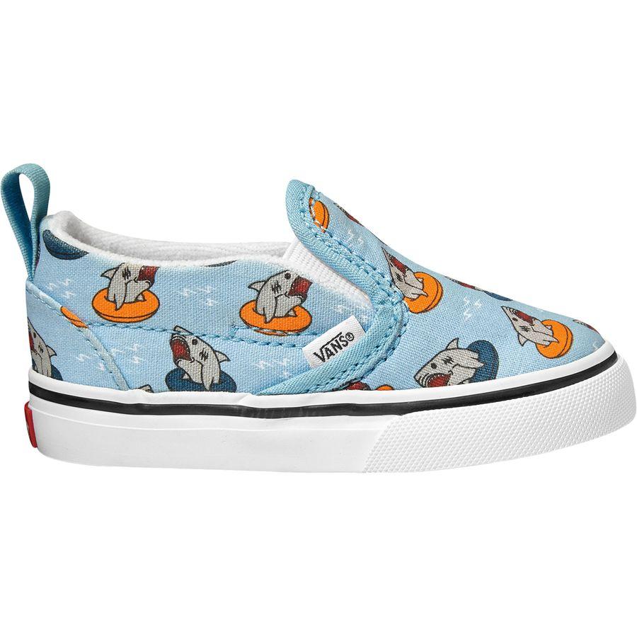 Vans - Slip-On V Shoe - Toddler Boys  - (floatie Sharks) 7e768686a