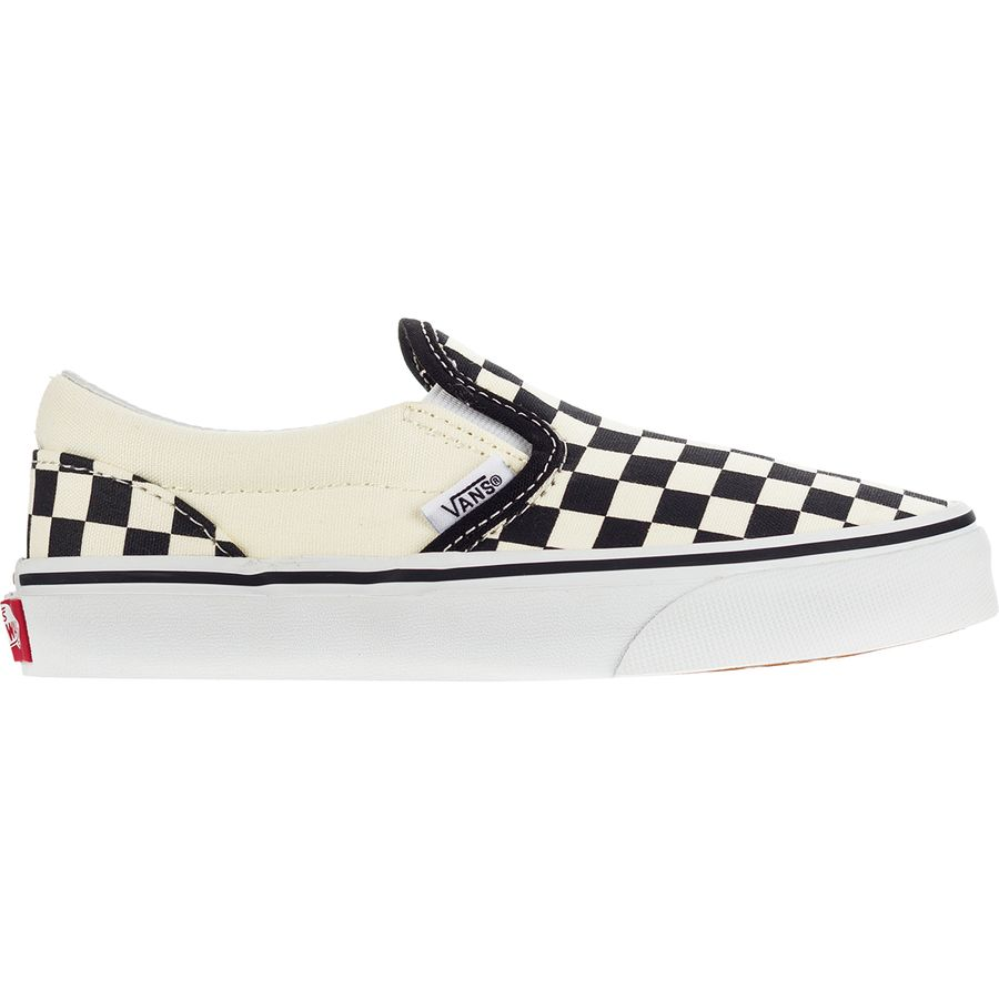 vans youth checkered