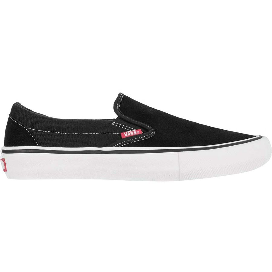 01231816c1d5 Vans - Slip-On Pro Skate Shoe - Men s - Black White Gum