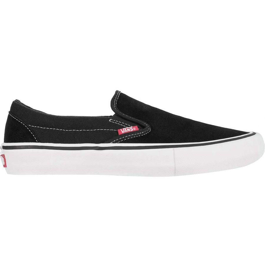 abb794401a7 Vans - Slip-On Pro Skate Shoe - Men s - Black White Gum