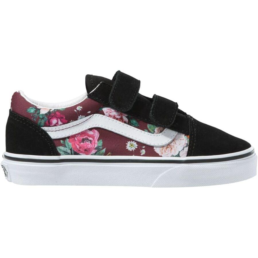 Vans Old Skool V Shoe - Little Girls