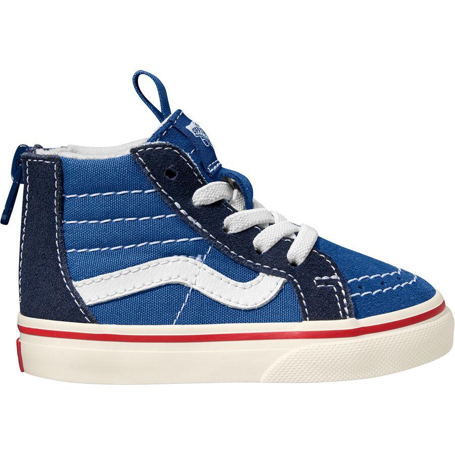 Vans SK8-Hi Zip Skate Shoe - Toddler Boys