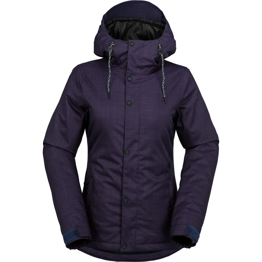 Volcom Bolt Hooded Insulated Jacket - Womens