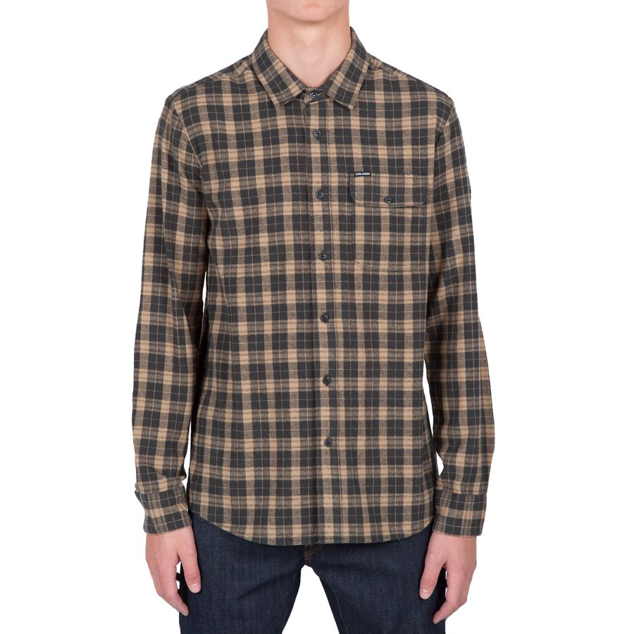 Volcom fulton flannel shirt men 39 s up to 70 off for Places to buy flannel shirts